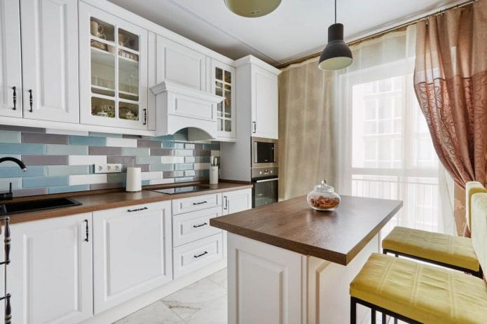 9 square kitchen color palette