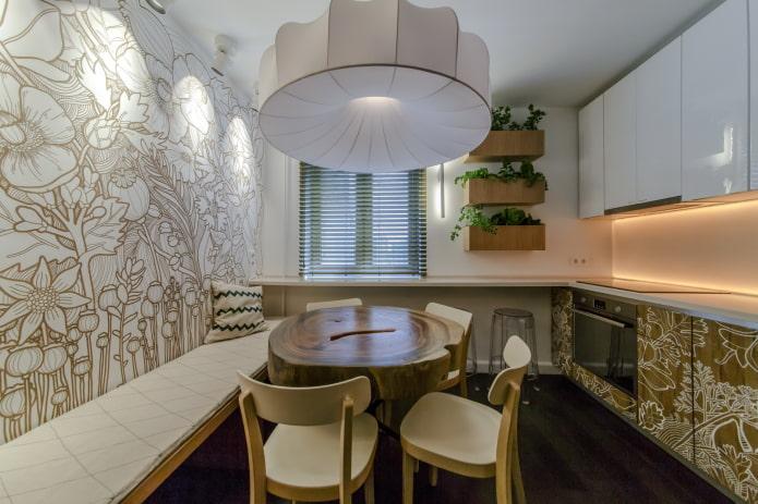 9-square eco-friendly kitchen