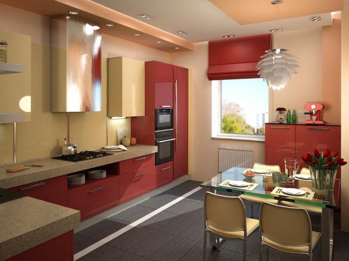 9-square kitchen design