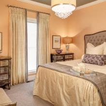 Interiør i ferskenfarger: mening, kombinasjon, valg av finish, møbler, gardiner og dekor-7