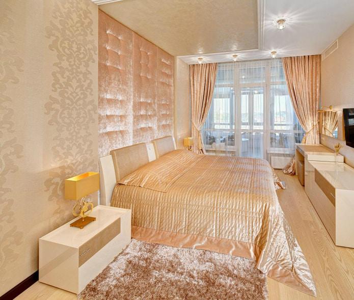 Interiør i ferskentoner: mening, kombinasjon, valg av finish, møbler, gardiner og dekor